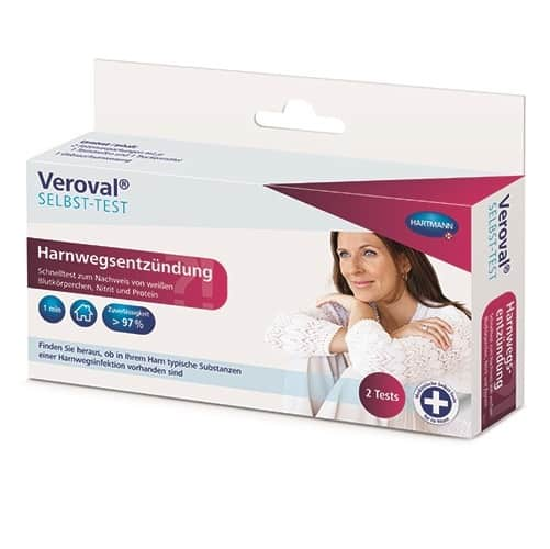 Veroval® - test de confirmare a infectiei urinare
