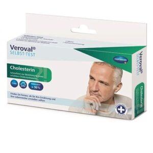 Veroval® – kit rapid pentru masurarea colesterolului