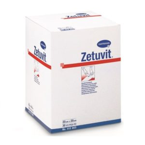 Zetuvit - comprese absorbante 10x20 cm.