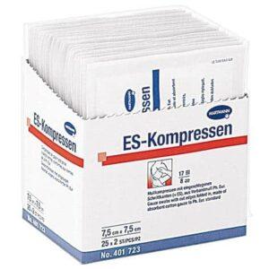 ES-Kompressen® – comprese din tifon 5x5 cm. in 8 straturi