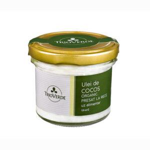 Ulei de cocos alimentar virgin organic - 125 ml.