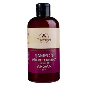 Sampon natural pentru par degradat - 250 ml.