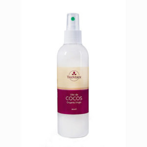 Ulei de cocos virgin certificat - spray 200 ml.
