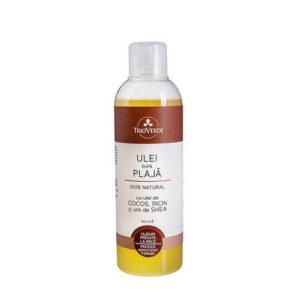 Ulei natural dupa plaja testat dermatologic - 200 ml.