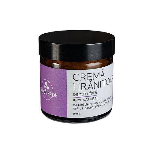 Crema hranitoare pentru fata naturala - 50 ml.
