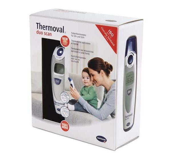 Thermoval®duo scan - termometru cu infrarosu pentru copii