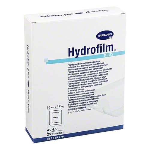 Hydrofilm®plus - plasture autoadeziv, absorbant 10x25 cm.