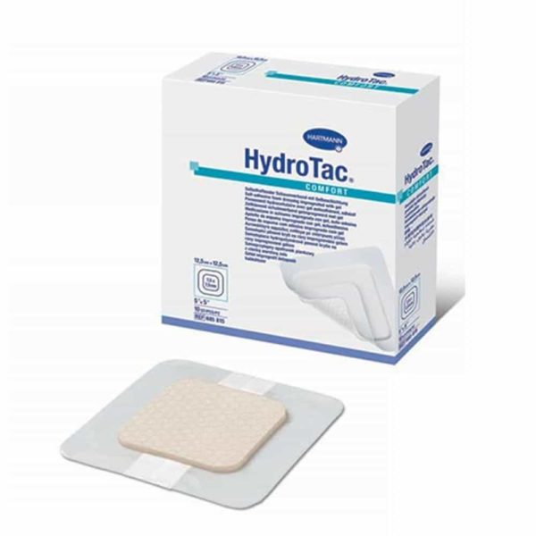 HydroTac®comfort – pansament din spuma poliuretanica autoadeziv 8x8 cm.