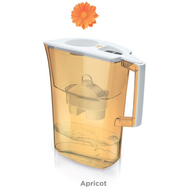 Cana filtranta de apa Laica Spring Apricot