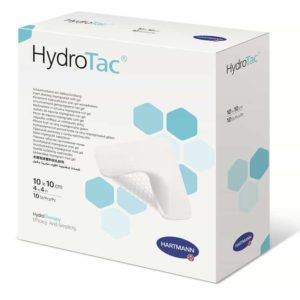 HydroTac® - pansament din spuma poliuretanica cu hidrogel 10x10 cm.