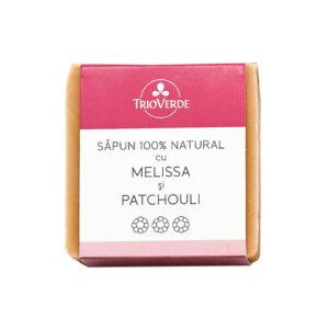 Sapun natural cu melissa si patchouli - 110 gr.