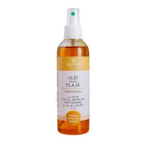 Ulei natural pentru plaja testat dermatologic - spray 200 ml.