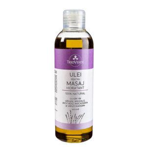 Ulei natural pentru masaj hidratant - 200 ml.