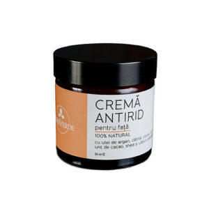 Crema pentru fata antirid naturala - 50 ml.