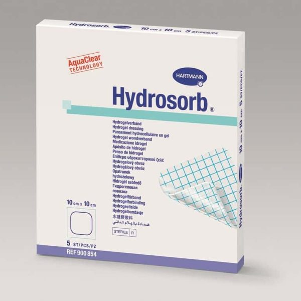 Hydrosorb® - pansament cu hidrogel 5x7.5 cm.