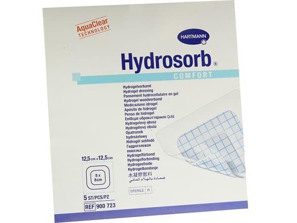 Hydrosorb®comfort - pansament cu hidrogel autoadeziv 12.5x12.5 cm.
