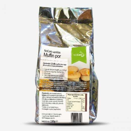 Mix pentru briose dietetice cu gust de vanilie