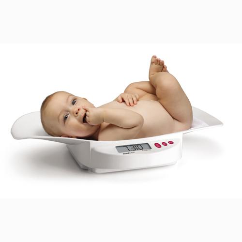 Laica - cantar pentru bebelusi Bodyform max. 20 kg.