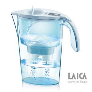 Cana filtranta de apa Laica Stream White