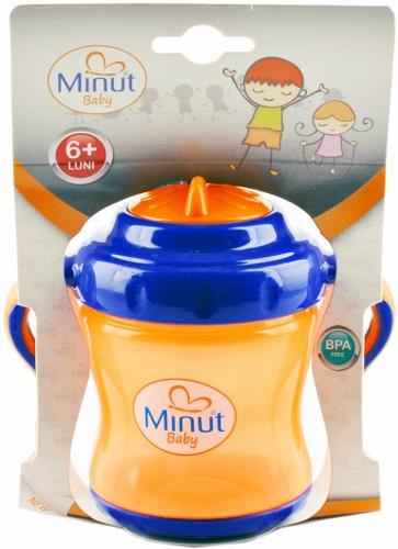 2011015-portoCanuta Minut Baby cu manere si pai 250ml_363x500