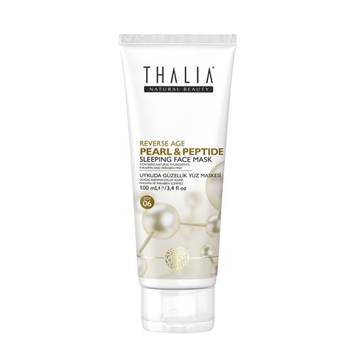 Masca de fata Thalia cu perle si peptide