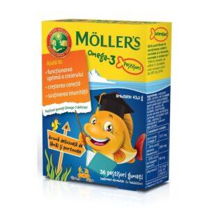 pestisori-gumati-cu-omega-3-si-aroma-de-lamai-si-portocale-36-jeleuri-moller-s-1422